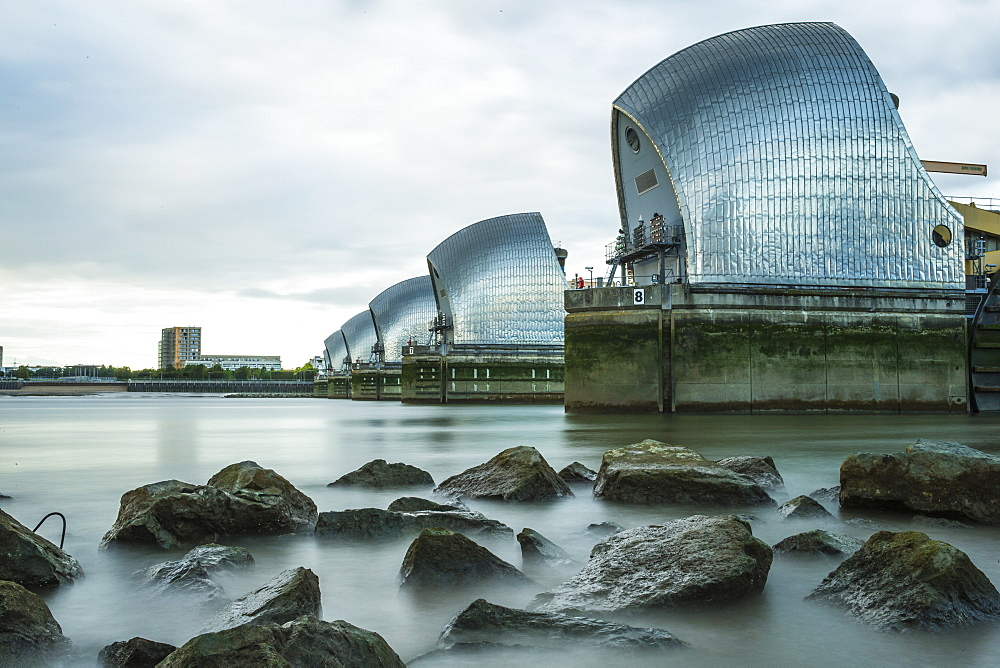 Thames Barrier, London, England, United Kingdom, Europe