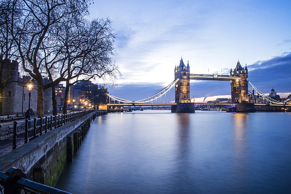 Tower Bridge, London, England, United Kingdom, Europe - 728-6296