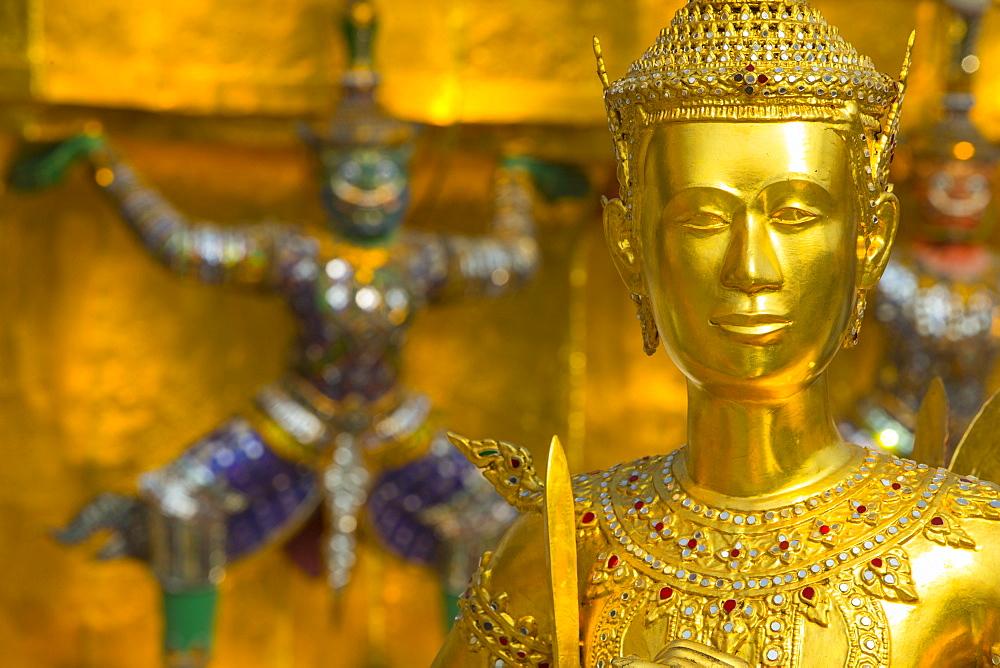 Detail, Grand Palace, Bangkok, Thailand, Southeast Asia, Asia - 728-6384