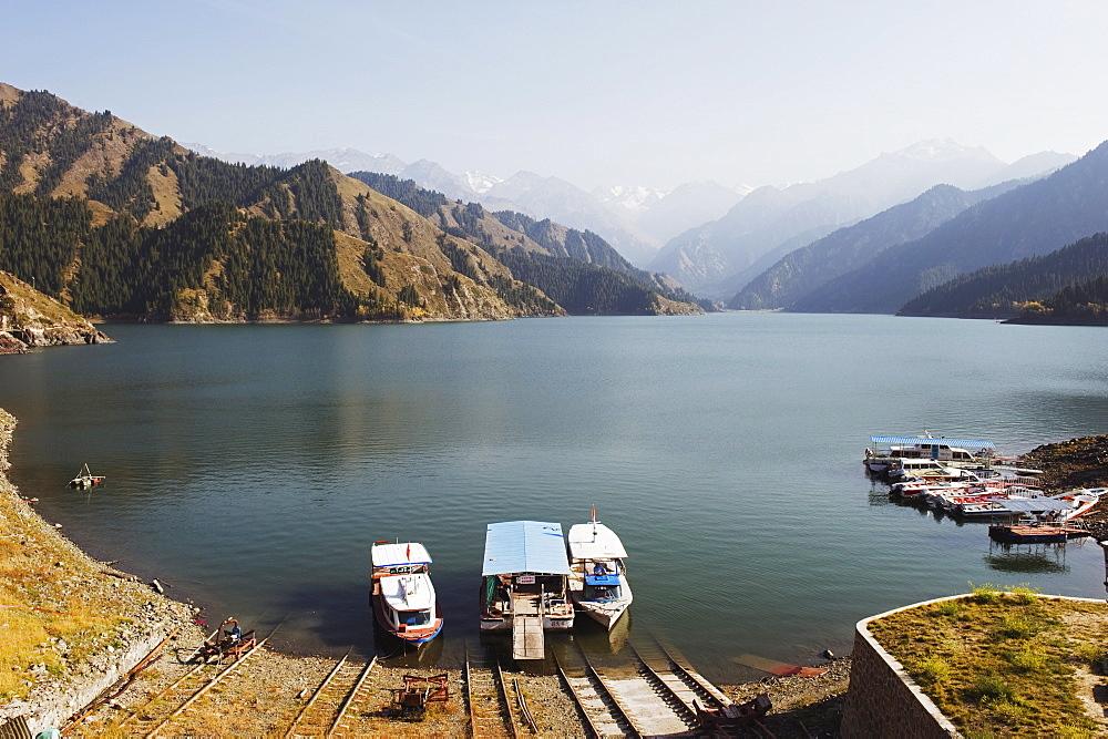 Tian Chi (Heaven Lake), Xinjiang Province, China, Asia