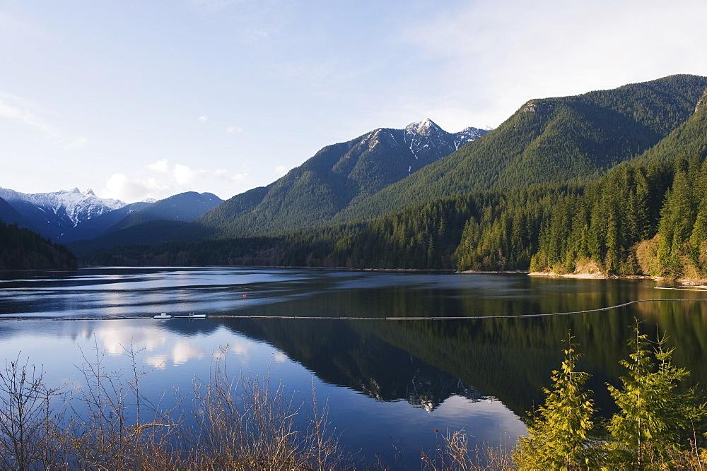 Capilano Lake, Vancouver, British Columbia, Canada, North America