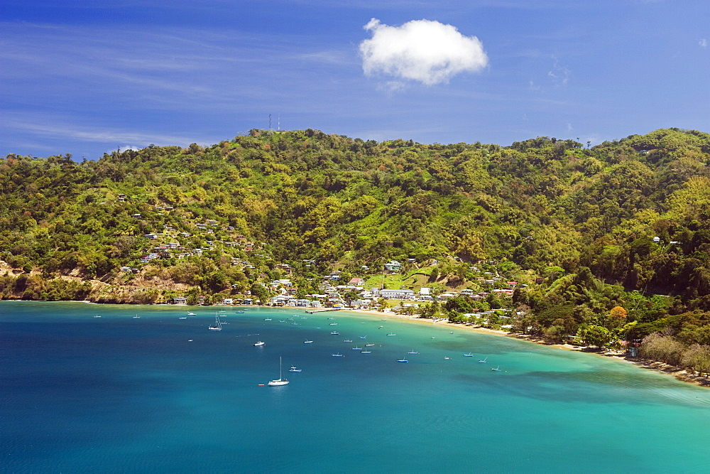 Pirate Bay, Charlotteville, Tobago, Trinidad and Tobago, West Indies, Caribbean, Central America