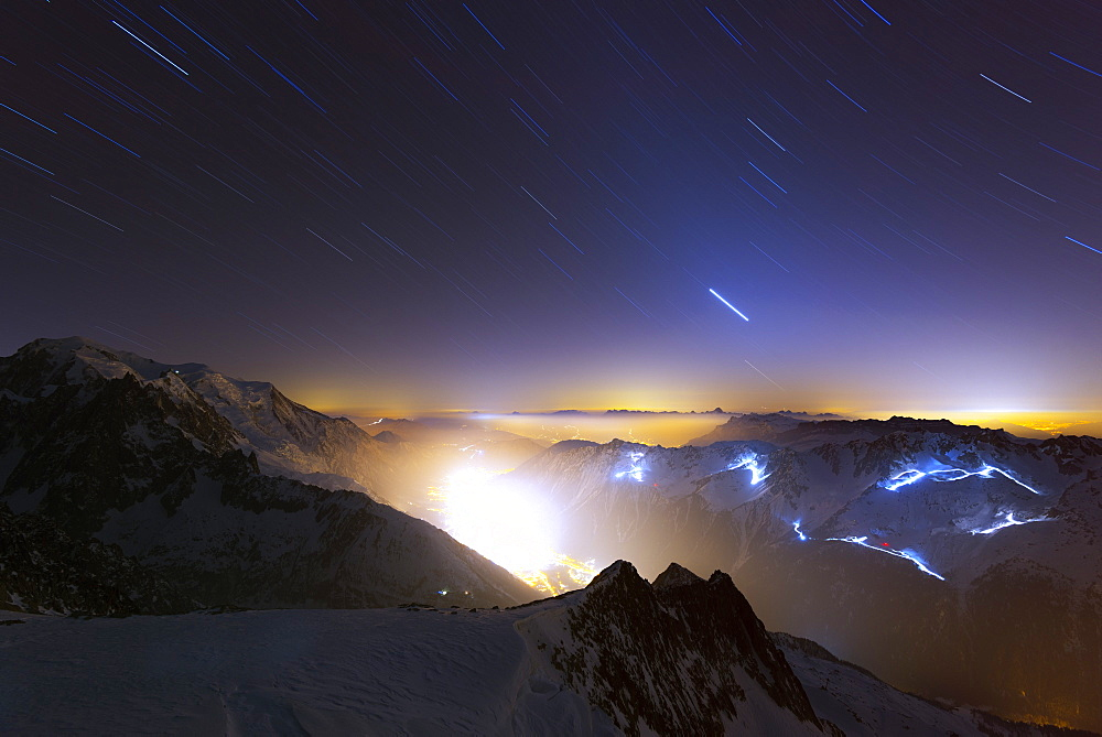 Chamonix Valley, Chamonix, Rhone Alpes, Haute Savoie, France, Europe