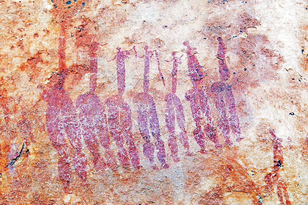 San rock art on the Sevilla Rock Art Trail, Cederberg Wilderness Area, Western Cape, South Africa, Africa