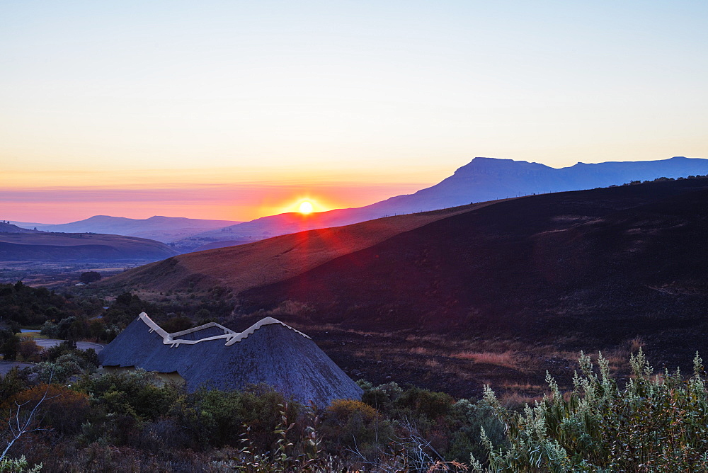 Didima San Art Centre, Cathedral Peak Nature Reserve, Drakensburg, Kwazulu-Natal, South Africa, Africa