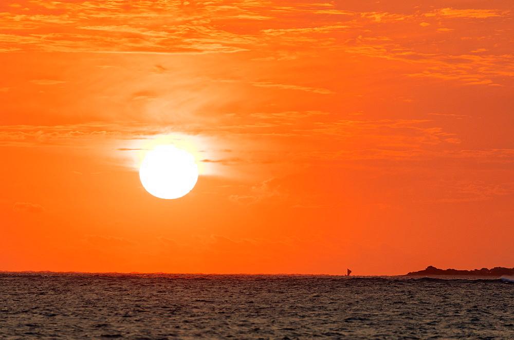 Sunset, Anakao, southern Madagascar, Africa