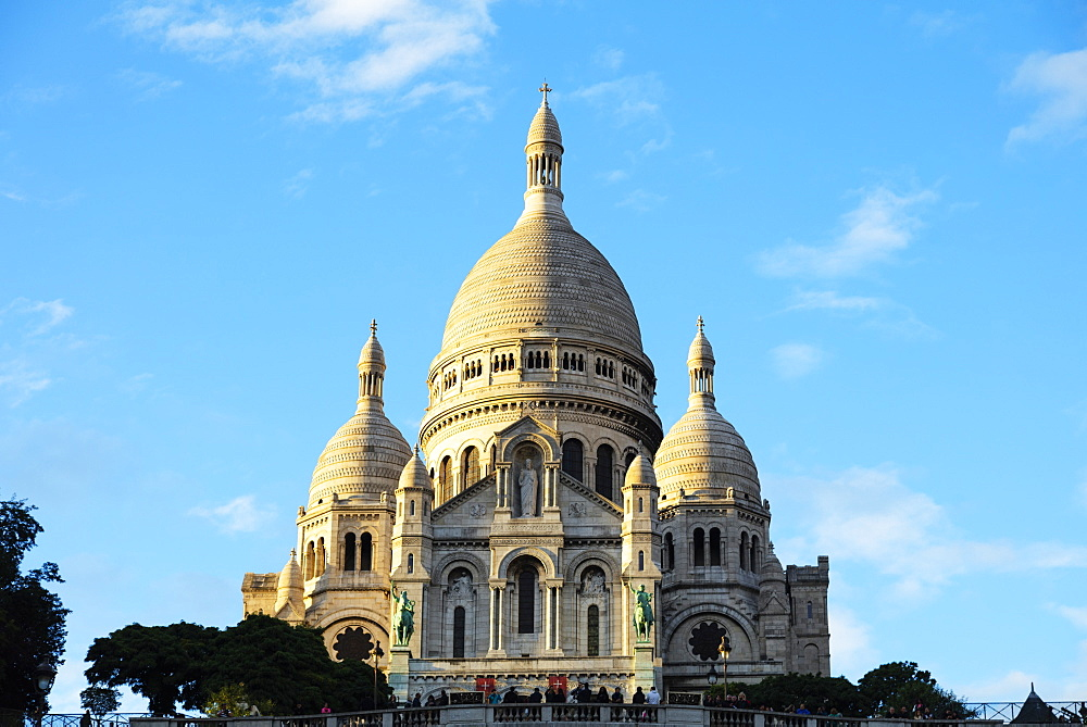 Sacre Coeur Basilica, Montmartre, Paris, France, Europe