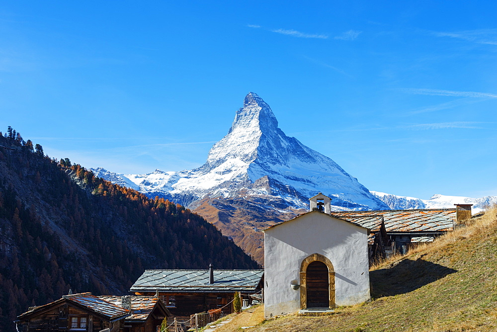 The Matterhorn, 4478m, Zermatt, Valais, Swiss Alps, Switzerland, Europe