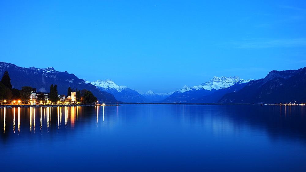 Musee Suisse du Jeu (The Swiss Museum of Games), Lake Geneva (Lac Leman), Vevey, Vaud, Switzerland, Europe