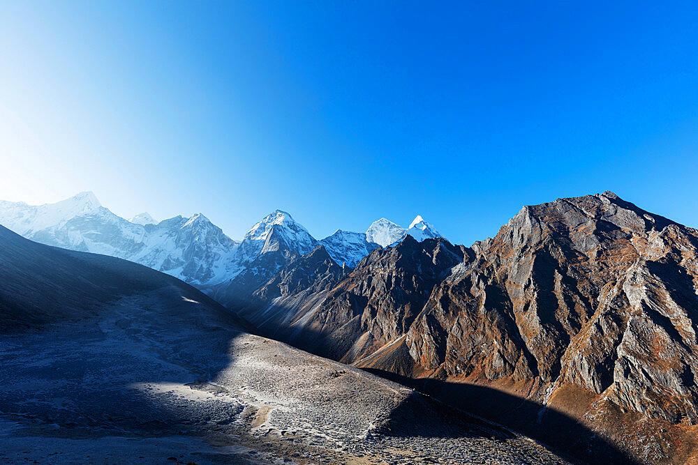 Asia, Nepal, Khumbu valley, Sagamartha National Park, Unesco World Heritage site