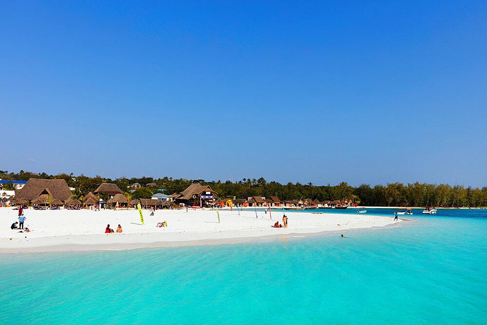 East Africa, Tanzania, Zanzibar island, Nungwi, beach infront on Kendwa Hotel