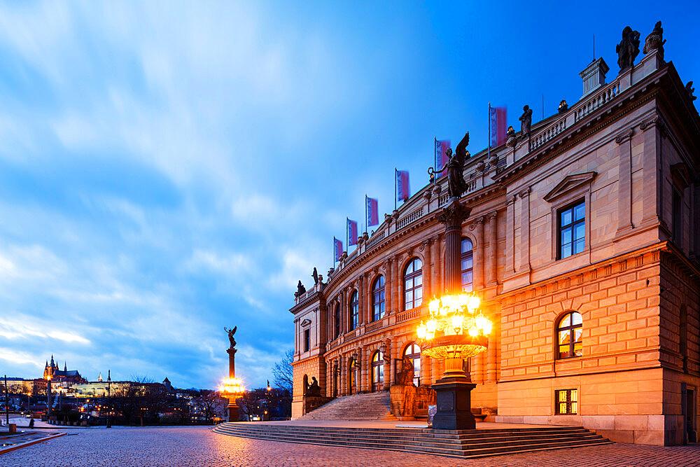 Europe, Czech Republic, Prague, Rudolfinum concert hall and art gallery - 733-7793