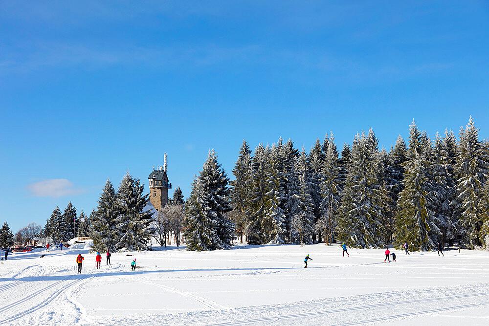 Cross country ski location. Liberec, Czech Republic, Europe