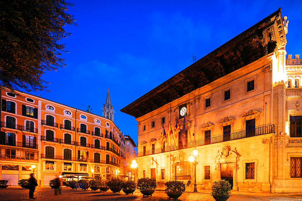 Europe, Spain, Balearic Islands, Mallorca, Palma de Mallorca, Cappuchino Hotel