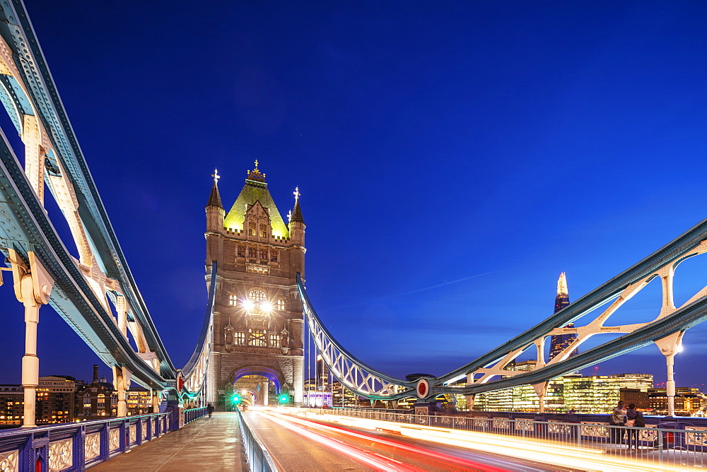 Tower Bridge, London, England, United Kingdom, Europe - 733-7998
