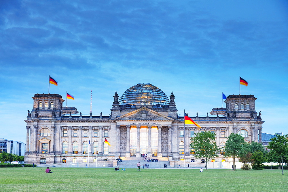 The Reichstag, Berlin, Germany, Europe