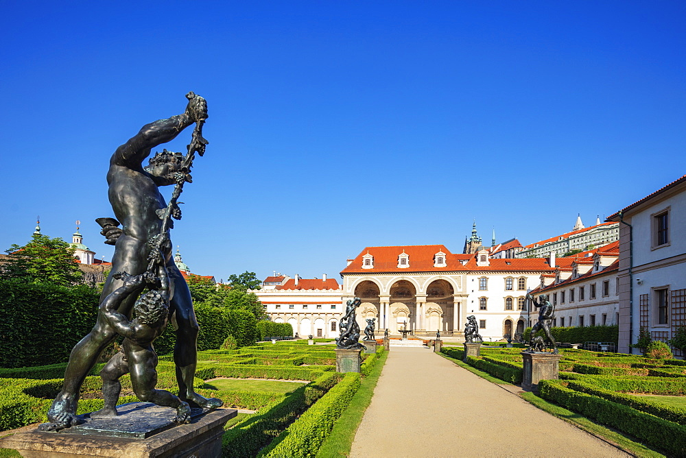 Wallenstein Palace park, Prague, UNESCO World Heritage Site, Bohemia, Czech Republic, Europe