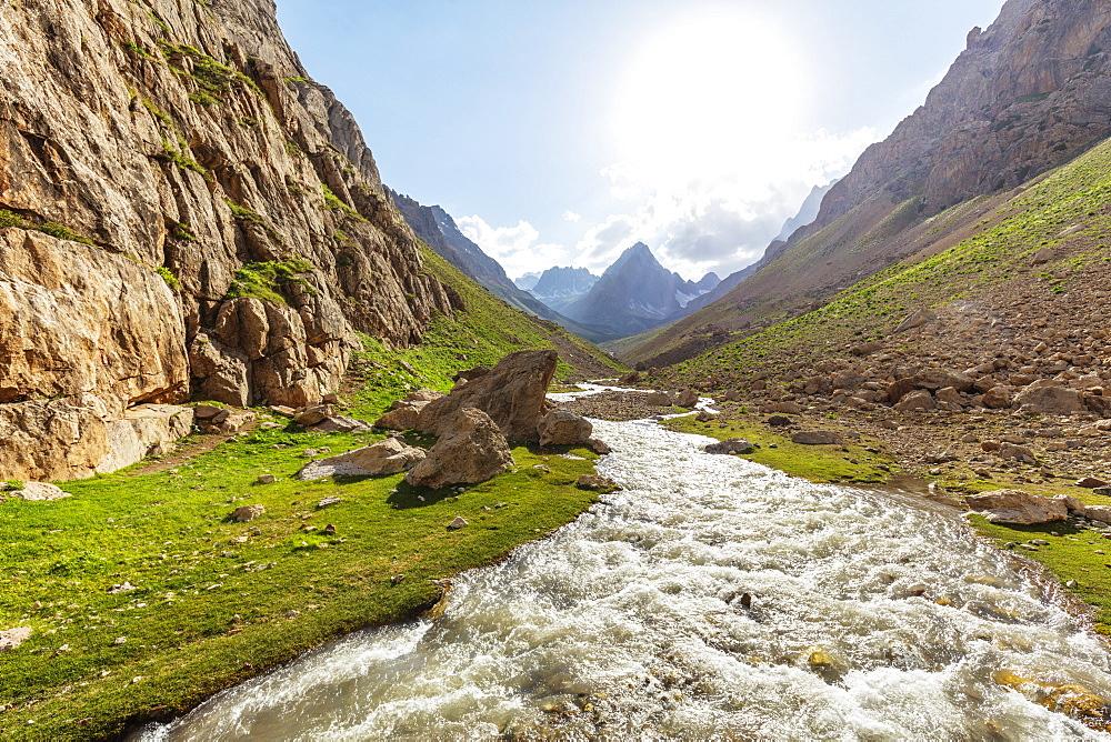Fan Mountains, Tajikistan, Central Asia, Asia - 733-8042