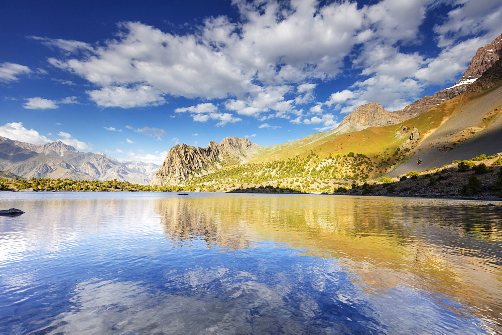 Alaudin Lake, Fan Mountains, Tajikistan, Central Asia, Asia