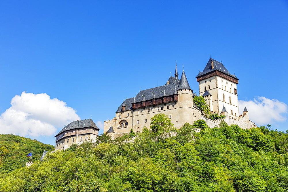 Karlstejn Castle, Czech Republic, Europe - 733-8106