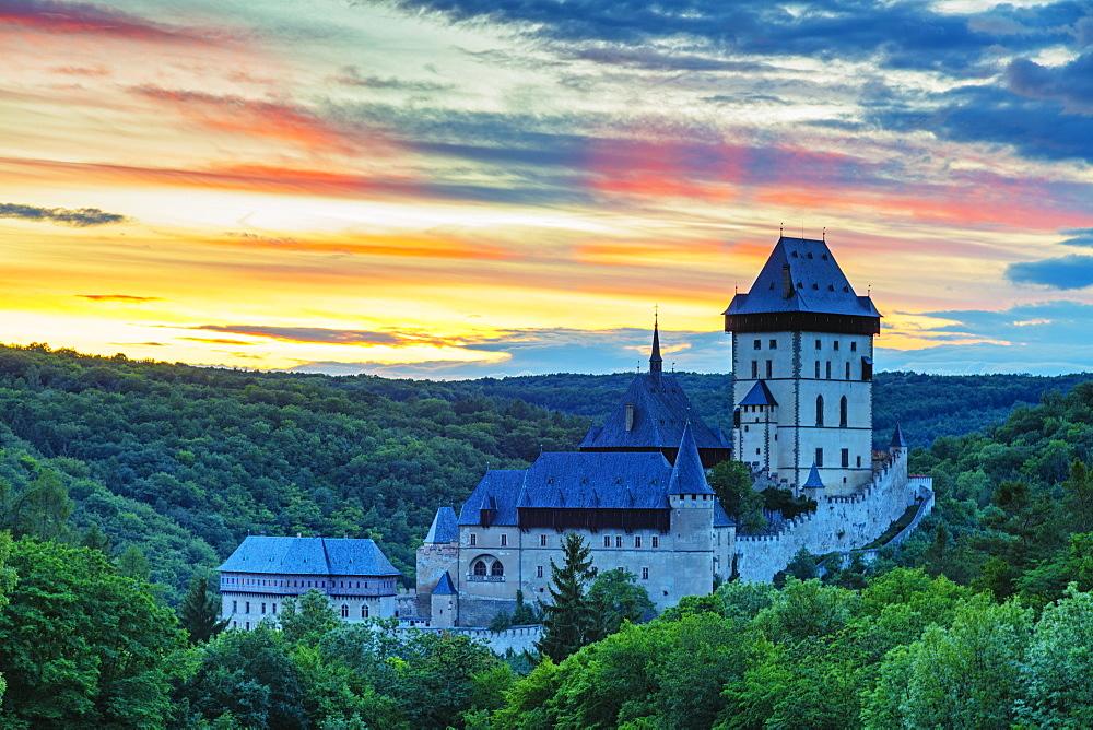 Karlstejn Castle, Czech Republic, Europe - 733-8108