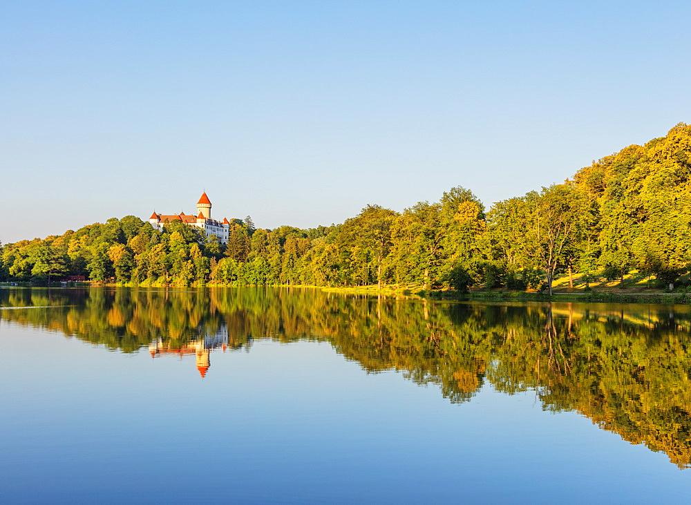 Konopiste Castle, Czech Republic, Europe - 733-8109
