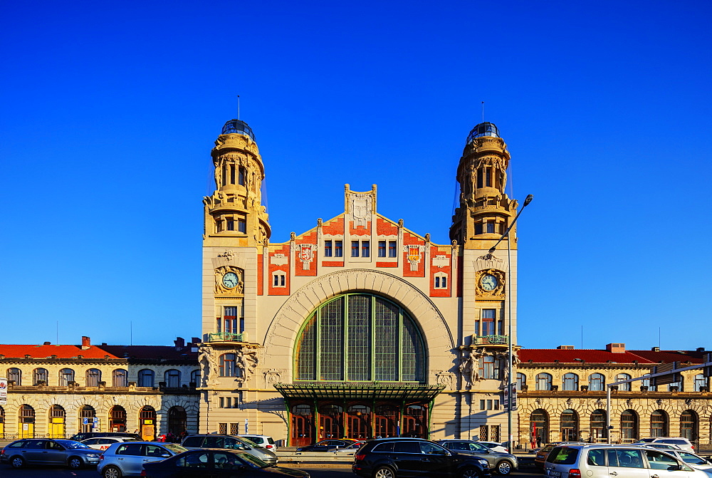 Hlavni Nadrazi, main train station, Prague, Czech Republic, Europe