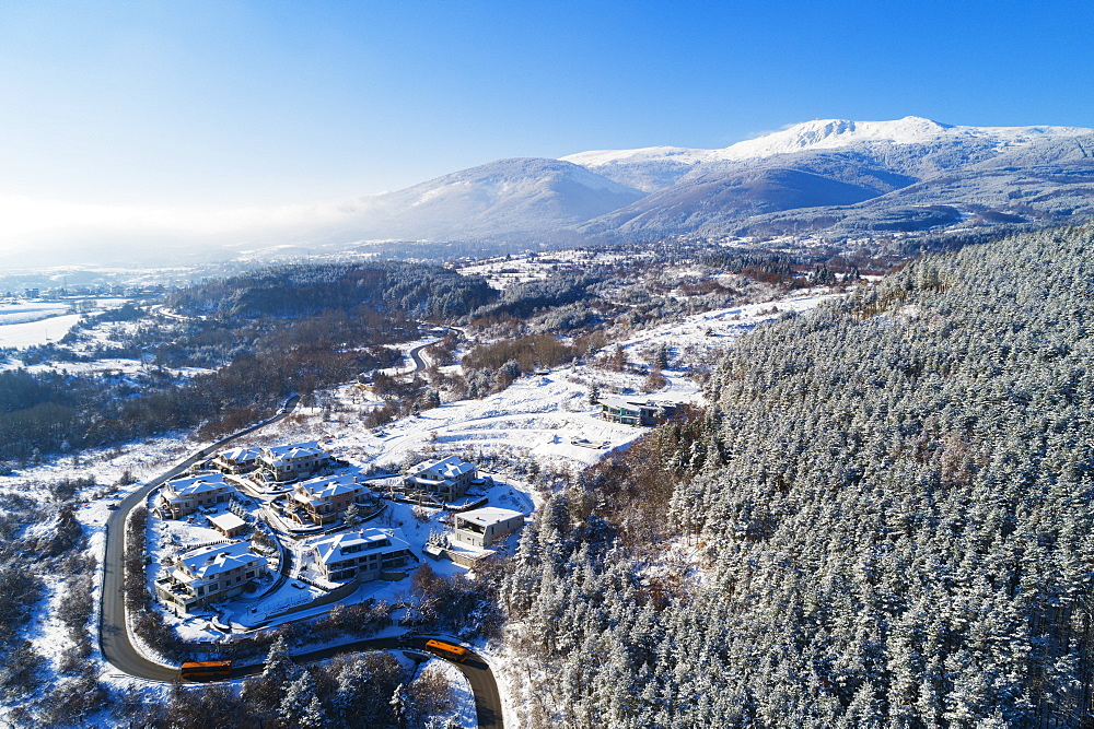 Europe, Bulgaria Sofia, Vitosha mountains on the edge of Sofia - 733-8393