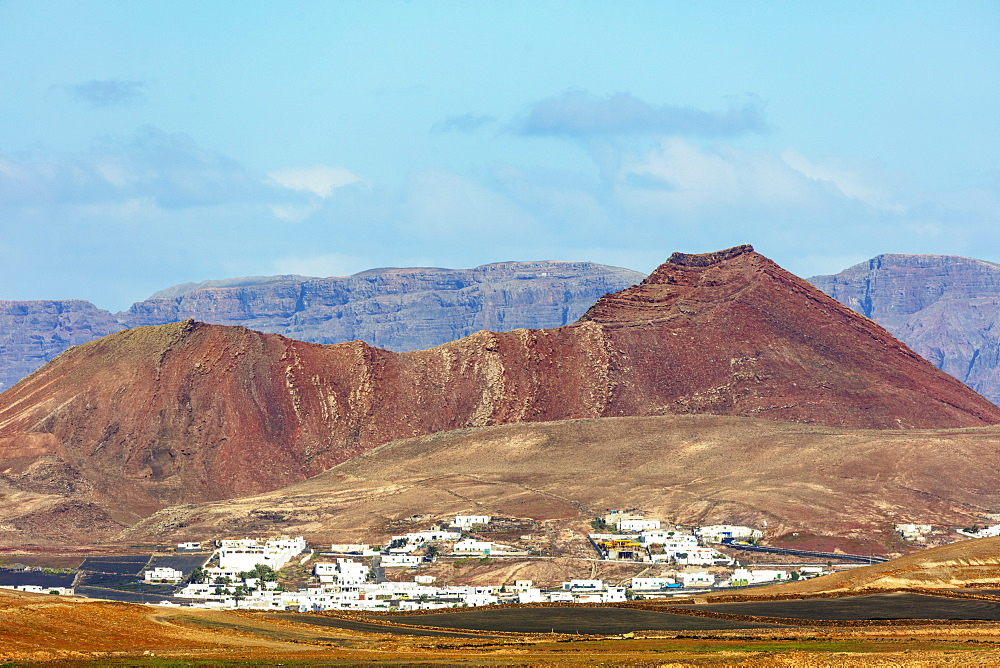 Europe, Spain, Canary Islands, Lanzarote, Tinajo - 733-8409
