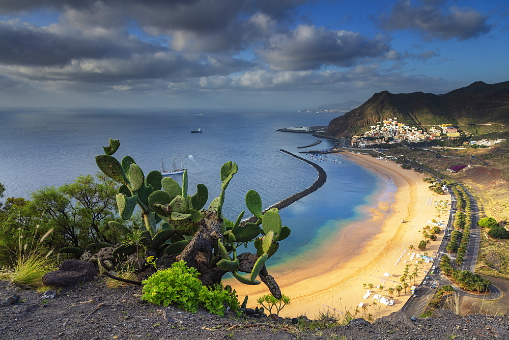 Playa de las Teresitas, San Andres, Tenerife, Canary Islands, Spain, Atlantic, Europe