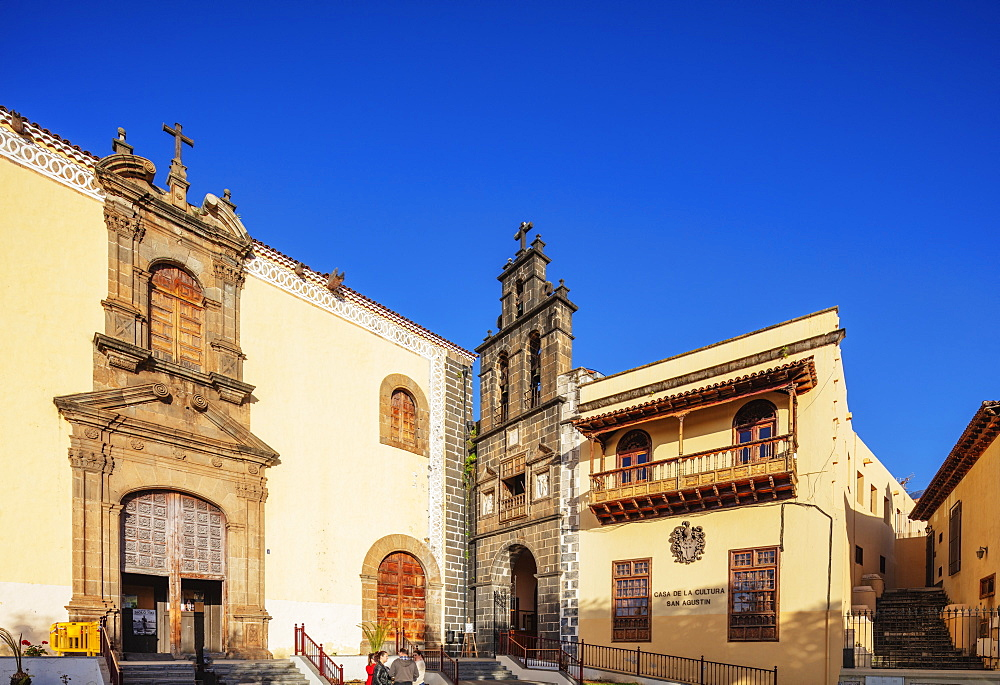 Europe, Spain, Canary Islands, Tenerife, La Orotava, Catholic church of San Augustin - 733-8419