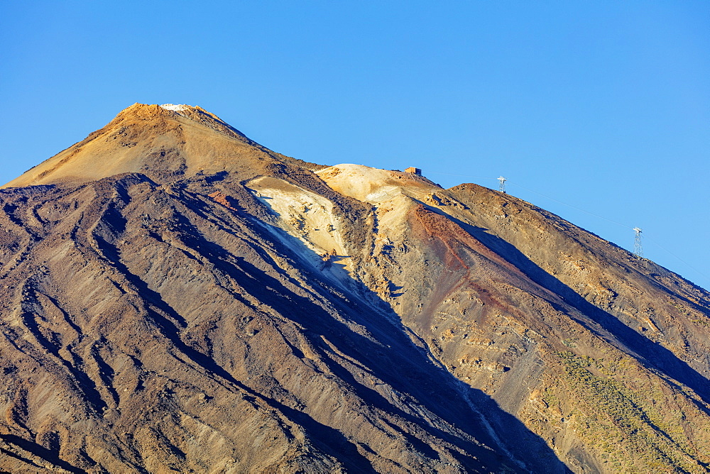 Europe, Spain, Canary Islands, Tenerife, Teide National Park, Pico del Teide (3718m) highest mountain in Spain - 733-8428