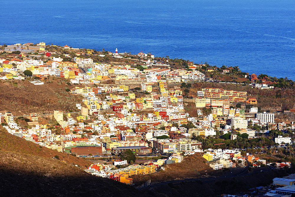 Europe, Spain, Canary Islands, La Gomera, Unesco Biosphere site, San Sebastian de la Gomera town - 733-8469