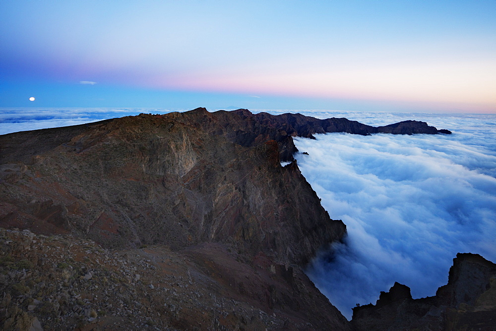 Europe, Spain, Canary Islands, La Palma, Unesco Biosphere site, National Park Caldera de Taburiente - 733-8474