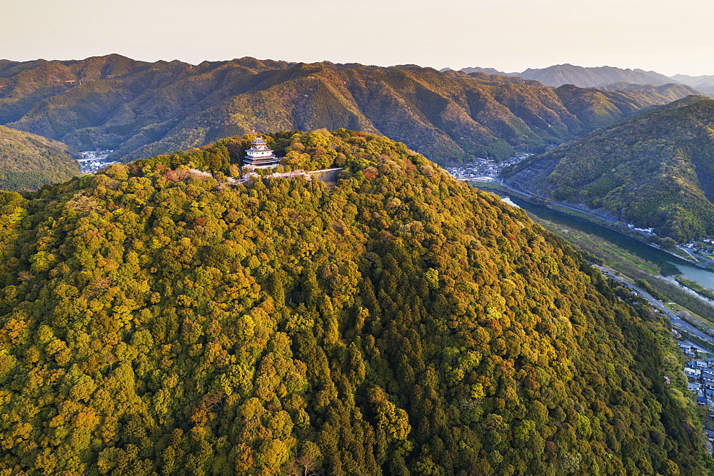 Iwakuni Castle, Iwakuni, Yamaguchi Prefecture, Honshu, Japan, Asia