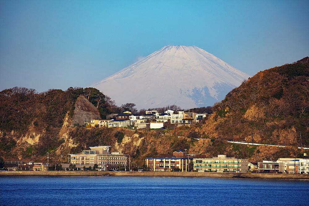 Mount Fuji, 3776m, UNESCO World Heritage Site, Kanagawa Prefecture, Honshu, Japan, Asia