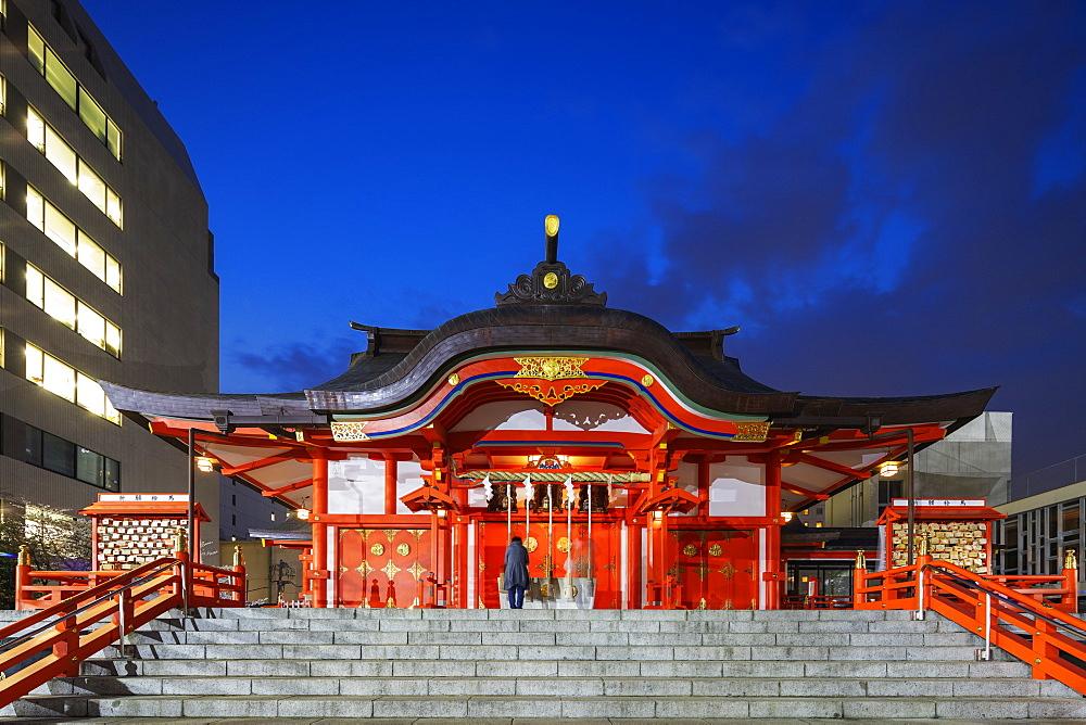 Hanazono Shrine, Shinjuku, Tokyo, Japan, Asia