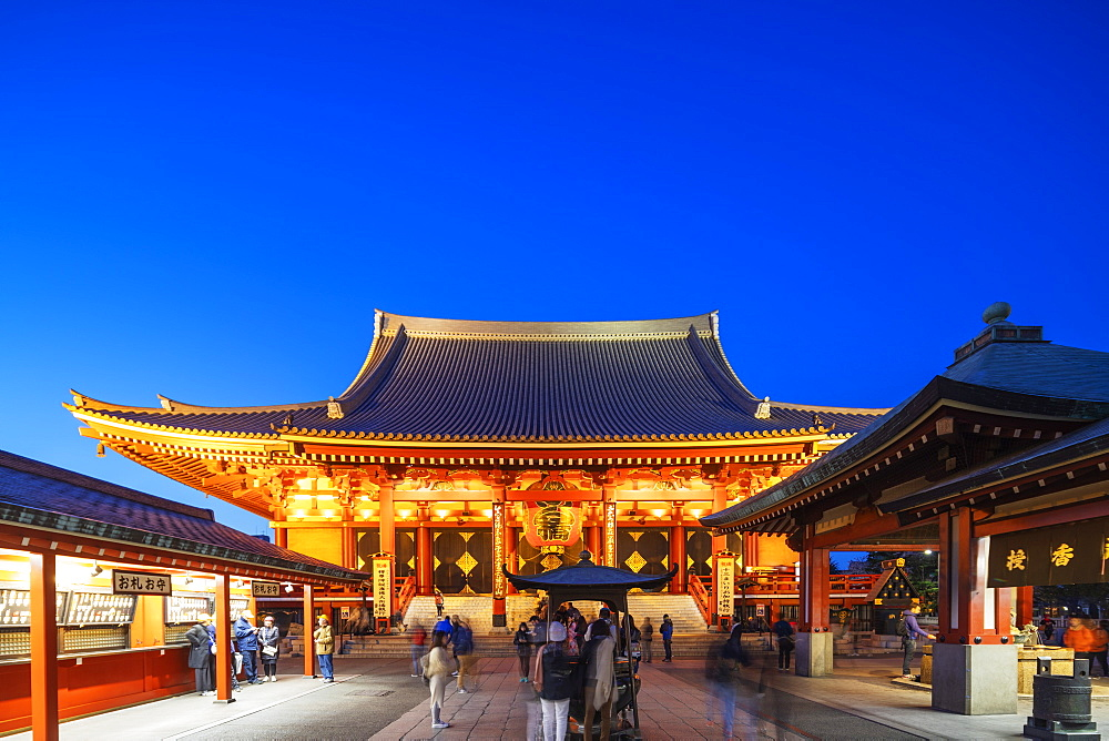 Asia, Japan, Tokyo, Asakusa, Sensoji temple