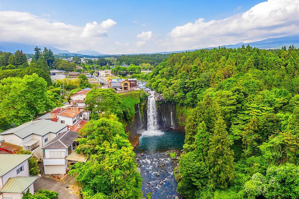 Japan, Honshu, Shizuoka Prefecture, Fuji-Hakone-Izu National Park, Unesco site, Otodome falls