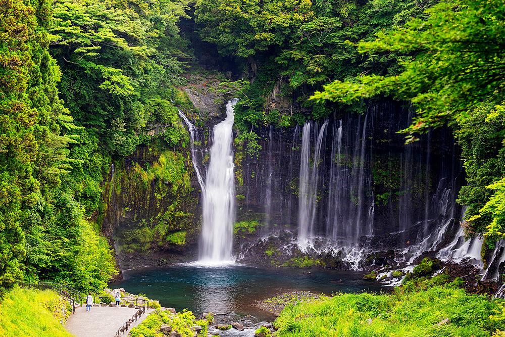 Japan, Honshu, Shizuoka Prefecture, Fuji-Hakone-Izu National Park, Unesco site, Shiraito falls