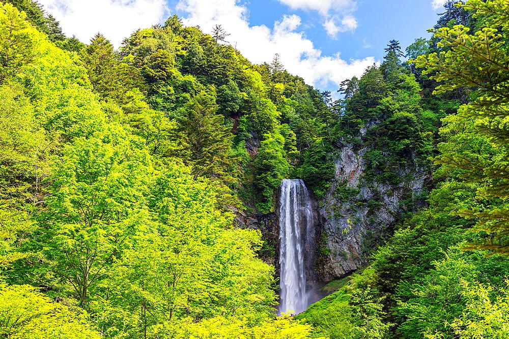Japan, Honshu, Gifu prefecture, Hirayu falls