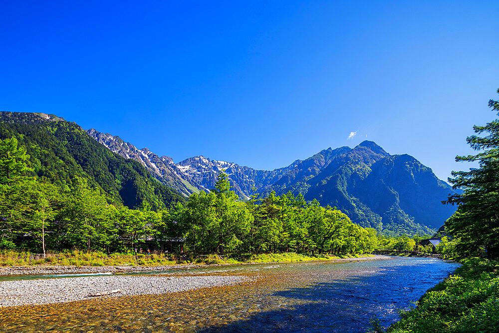 Kamikochi, Nagano prefecture, Honshu, Japan, Asia