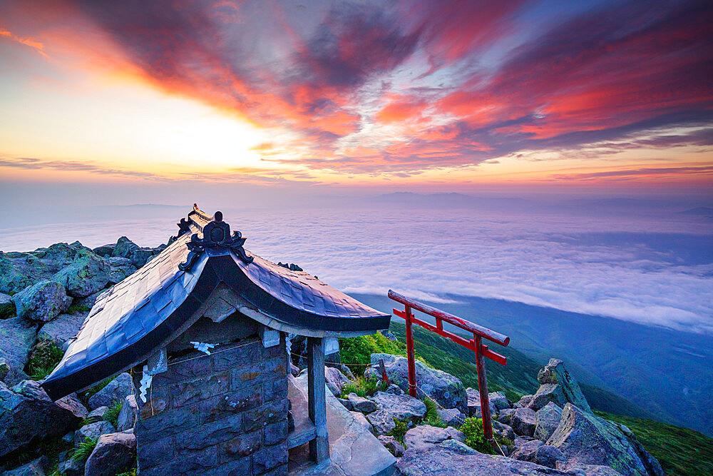 Japan, Honshu, Tohoku, Aomori prefecture, Mt Iwaki