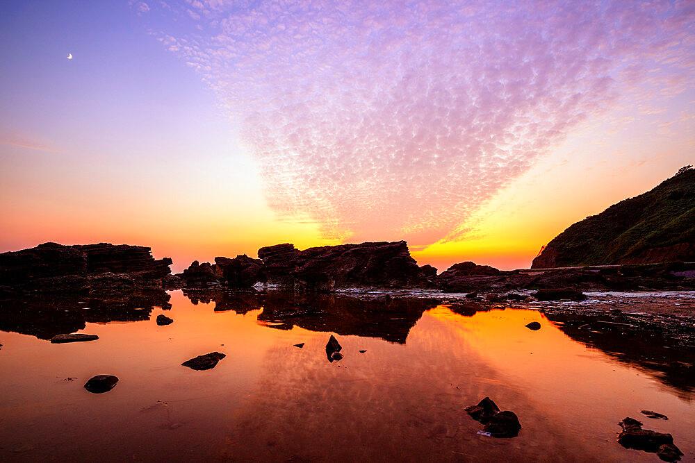 Japan, Honshu, Tohoku, Akita prefecture, coastal scenery