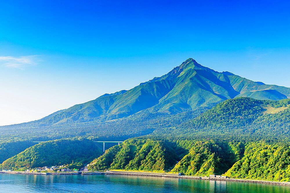 Japan, Hokkaido, Rishiri Island, Rishiri san mountain