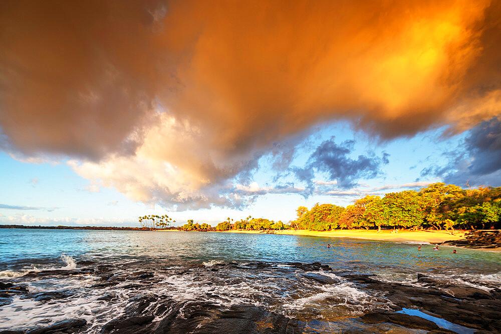 USA, Hawaii, Big Island, Mahai'ula beach