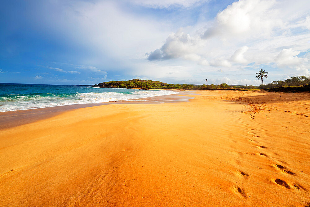 Papohaku Beach, Molokai Island, Hawaii, United States of America, North America
