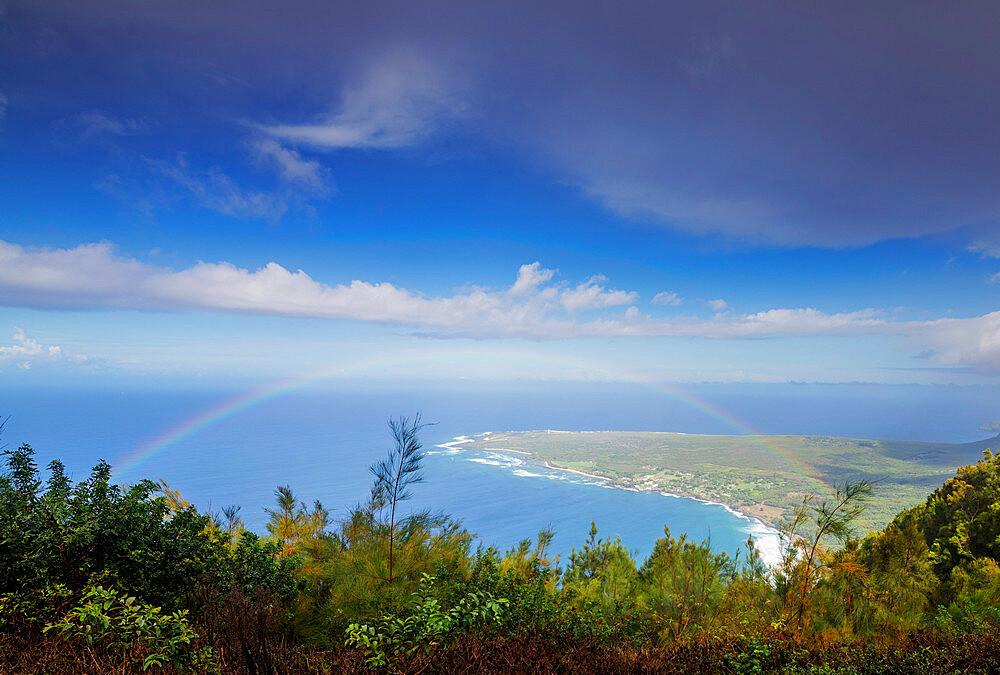 United States of America, Hawaii, Molokai island, Kaluapapa former Hanson's disease (leper) colony - 733-8980