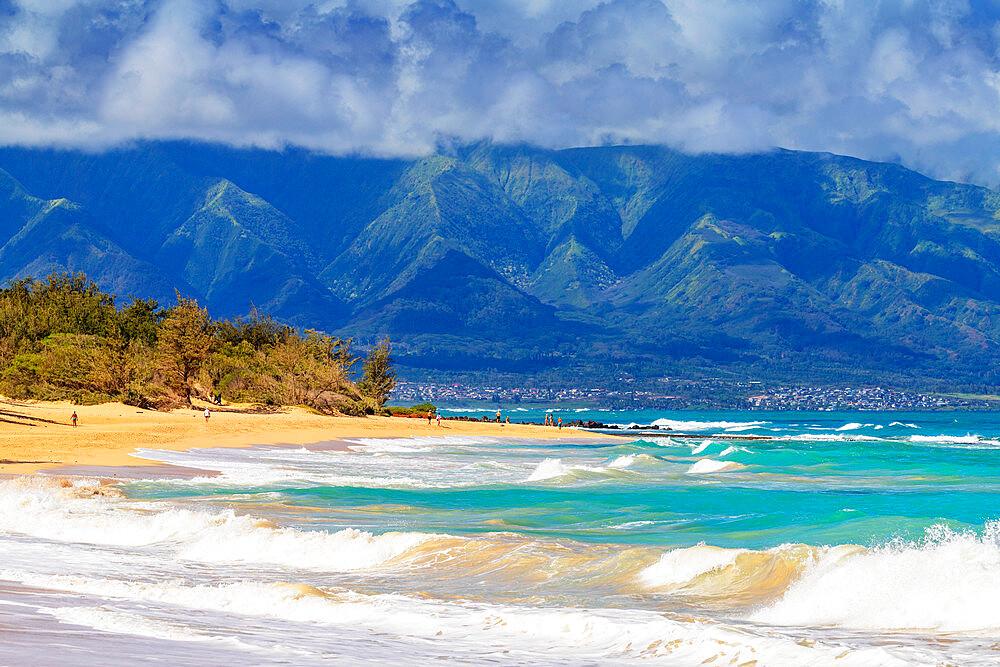 Baldwin Beach, Maui Island, Hawaii, United States of America, North America