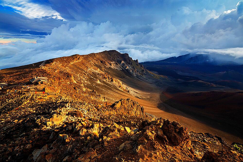 United States of America, Hawaii, Maui island, Haleakala National Park, volcanic landscape - 733-9050